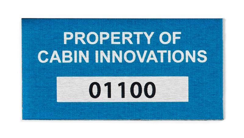 aluminum labels metal labels metallic stickers custom metal labels